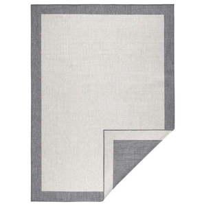 Jasnoszary dywan dwustronny odpowiedni na zewnątrz Bougari Panama, 160x230 cm obraz