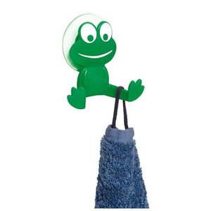 Zielony haczyk ścienny Wenko Frog obraz