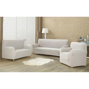 4Home Multielastyczny pokrowiec na kanapę 2-os. Comfort cream, 140 - 180 cm obraz