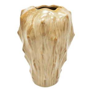 Piaskowy wazon ceramiczny PT LIVING Flora, wys. 23, 5 cm obraz
