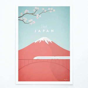 Plakat Travelposter Japan, A3 obraz