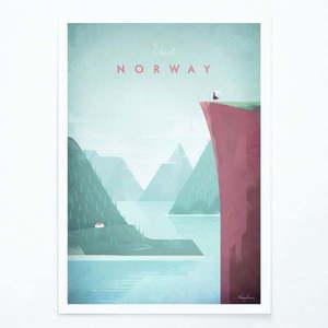 Plakat Travelposter Norway, A3 obraz