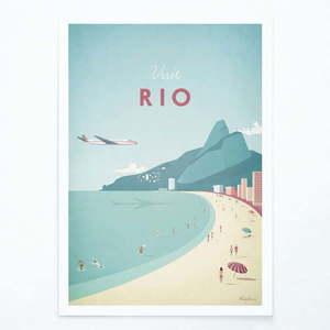 Plakat Travelposter Rio, A3 obraz