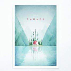 Plakat Travelposter Canada, A3 obraz