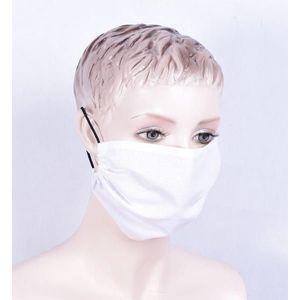 Forby, KORZYSTNY zestaw 10 szt, Maseczki higieniczne bawełniane, białe obraz