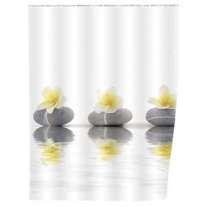 Zasłona prysznicowa Wenko Meditation 180x200 cm obraz