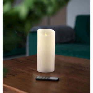 Świeczka LED z pilotem DecoKing Wax, wys. 15 cm obraz