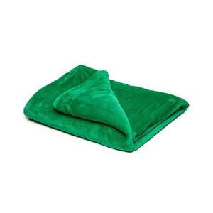 Zielony koc z mikropluszu My House, 150x200 cm obraz