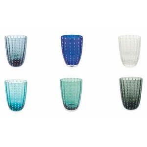 Komplet 6 szklanek w chłodnych odcieniach Villa d´Este Kalahari obraz