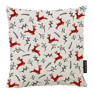 Świąteczna poduszka z poszewką z bawełny Butter Kings Deer, 45x45 obraz