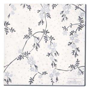 Zestaw 20 papierowych serwetek Green Gate Amira obraz