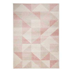 Różowy dywan Flair Rugs Urban Triangle, 200x275 cm obraz