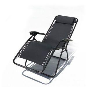 Fotel ogrodowy 2320 OXFORD czarny obraz