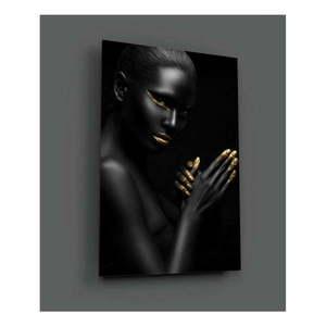 Obraz szklany Insigne Pinkelo, 72x46 cm obraz