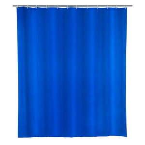 Niebieska zasłona prysznicowa Wenko Night obraz
