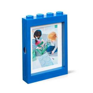Niebieska ramka na zdjęcie LEGO®, 19, 3x4, 7 cm obraz