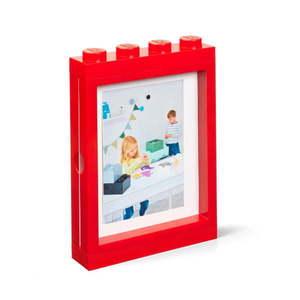 Czerwona ramka na zdjęcie LEGO®, 19, 3x4, 7 cm obraz