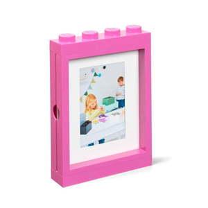 Różowa ramka na zdjęcie LEGO®, 19, 3x4, 7 cm obraz