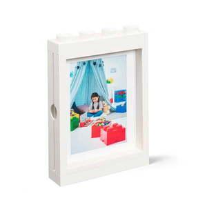 Biała ramka na zdjęcie LEGO®, 19, 3x4, 7 cm obraz