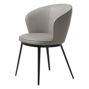 Szary fotel Unique Furniture Gain obraz