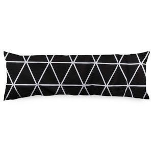4Home Poszewka na poduszkę Mąż zastępczy Galaxy czarno-biały, 45 x 120 cm, 45 x 120 cm obraz