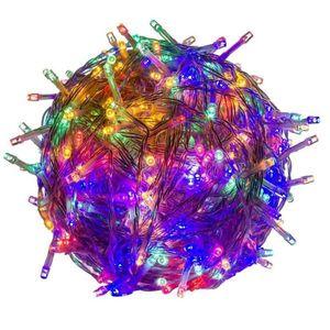Świąteczne LED oświetlenie - 40 m, 400 LED, kolorowe obraz