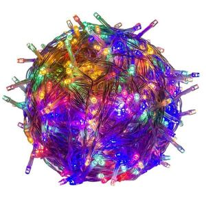 Świąteczne LED oświetlenie - 60 m, 600 LED, kolorowe obraz