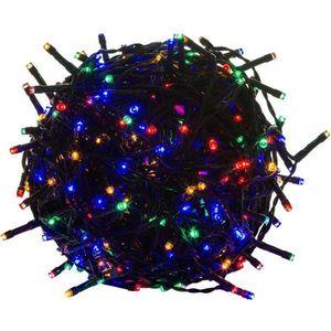 Świąteczne LED oświetlenie - 40 m, 400 LED, kolorowy obraz