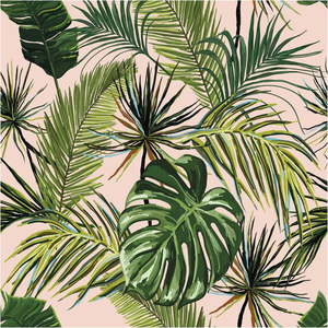 Ścienna naklejka dekoracyjna Ambiance Exotic, 60x60 cm obraz