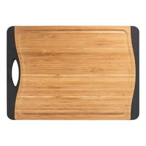Antypoślizgowa deska do krojenia z drewna bambusowego Wenko, 33x23 cm obraz
