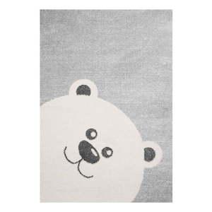 Szary dywan dziecięcy Zala Living Bear, 120x170 cm obraz