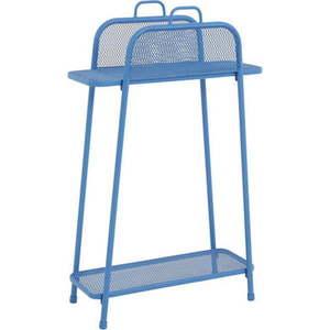 Niebieski metalowy regał na balkon ADDU MWH, wys. 105, 5 cm obraz