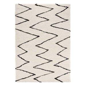 Beżowo-czarny dywan Mint Rugs Jara, 200x290 cm obraz