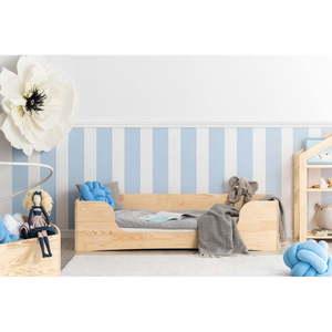 Dziecięce łóżko z drewna sosnowego Adeko Pepe Dan, 100x180 cm obraz