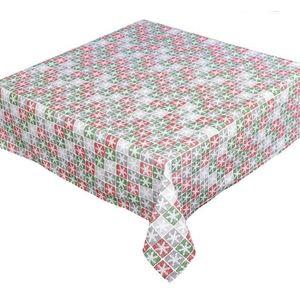 Forbyt, Obrus bawełniany, Świąteczny płatek 120 x 140cm prostokąt obraz