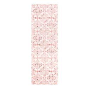 Różowy chodnik kuchenny Hanse Home Cook and Clean, 45x140 cm obraz