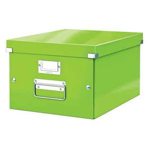 Zielone pudełko do przechowywania Leitz Universal, dł. 37 cm obraz