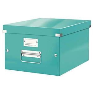 Turkusowe pudełko do przechowywania Leitz Universal, dł. 37 cm obraz