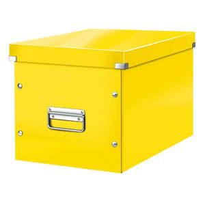 Żółty pojemnik na dokumenty Leitz Office obraz