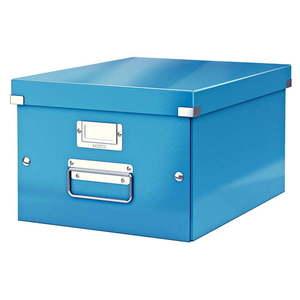 Niebieskie pudełko do przechowywania Leitz Universal, dł. 37 cm obraz