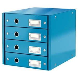 Niebieski pojemnik na dokumenty Leitz Office obraz