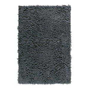 Grafitowy dywanik łazienkowy Wenko Chenille, 80x50 cm obraz