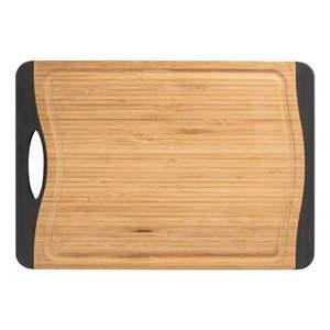 Antypoślizgowa deska do krojenia z drewna bambusowego Wenko, 39x28 cm obraz