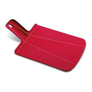 Czerwona składana deska do krojenia Joseph Joseph Chop2Pot Plus, dł. 38 cm obraz
