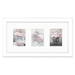 Biała ramka na zdjęcia Styler Malmo, 46x23 cm obraz