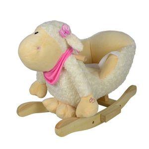Pluszowa owca na biegunach, 68 x 33 x 47 cm obraz
