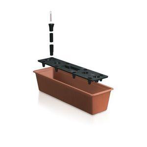 Prosperplast Skrzynka Balcony samonawadniająca terrakota, 60 cm obraz