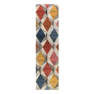 Wełniany chodnik Flair Rugs Yara, 60x230 cm obraz