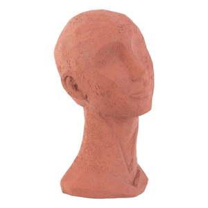 Figurka dekoracyjna w kolorze terakoty PT LIVING Face Art, wys. 28, 4 cm obraz
