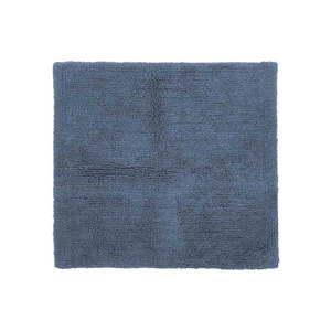 Niebieski bawełniany dywanik łazienkowy Tiseco Home Studio Luca, 60x60 cm obraz